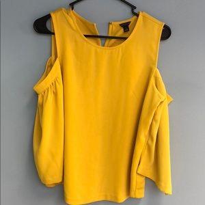 Ann Taylor cold shoulder blouse